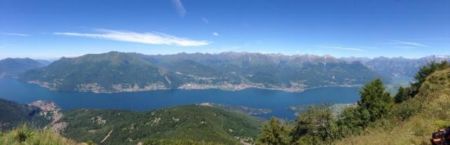 Il Lago di Como dall'alto