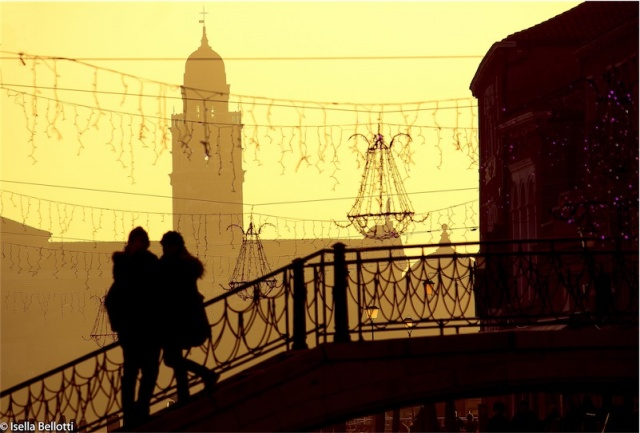 Sul ponte di Murano