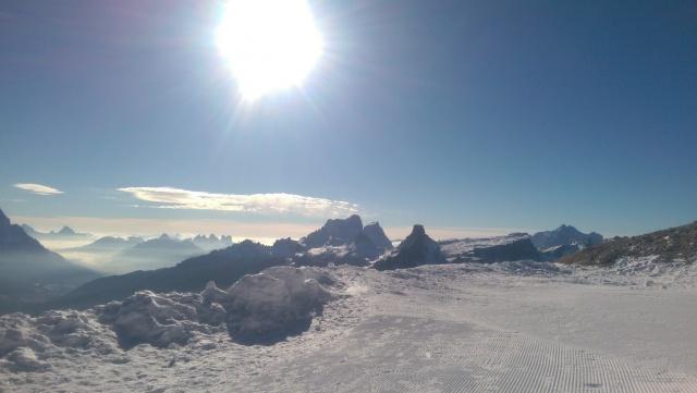 Il Paradiso o le Dolomiti?