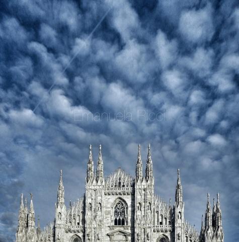 Nubi sul Duomo