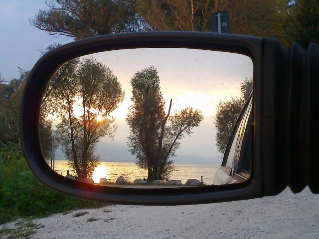 Il lago è uno... specchio