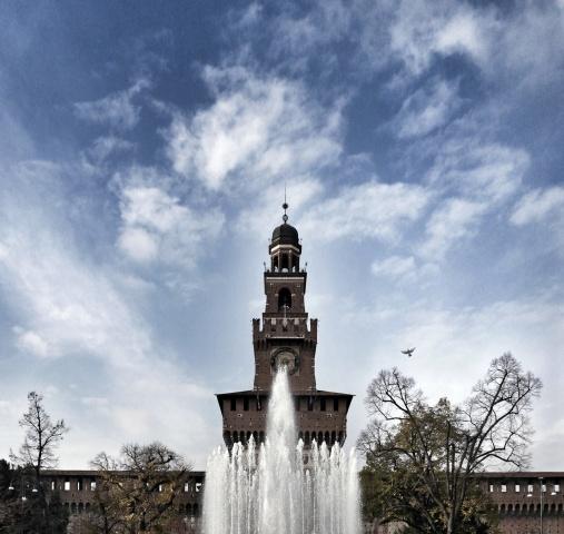 Acqua e torre, verso l'Infinito