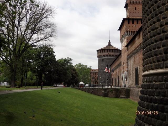Castello Sforzesco: dove sono i coccodrilli?