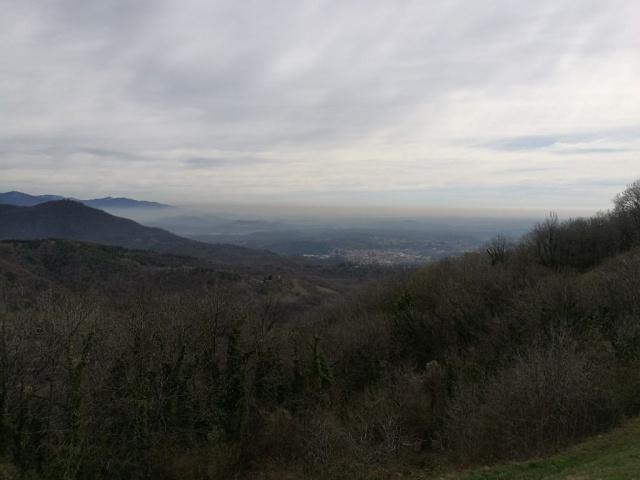 Vista dal Belvedere del Sacro Monte