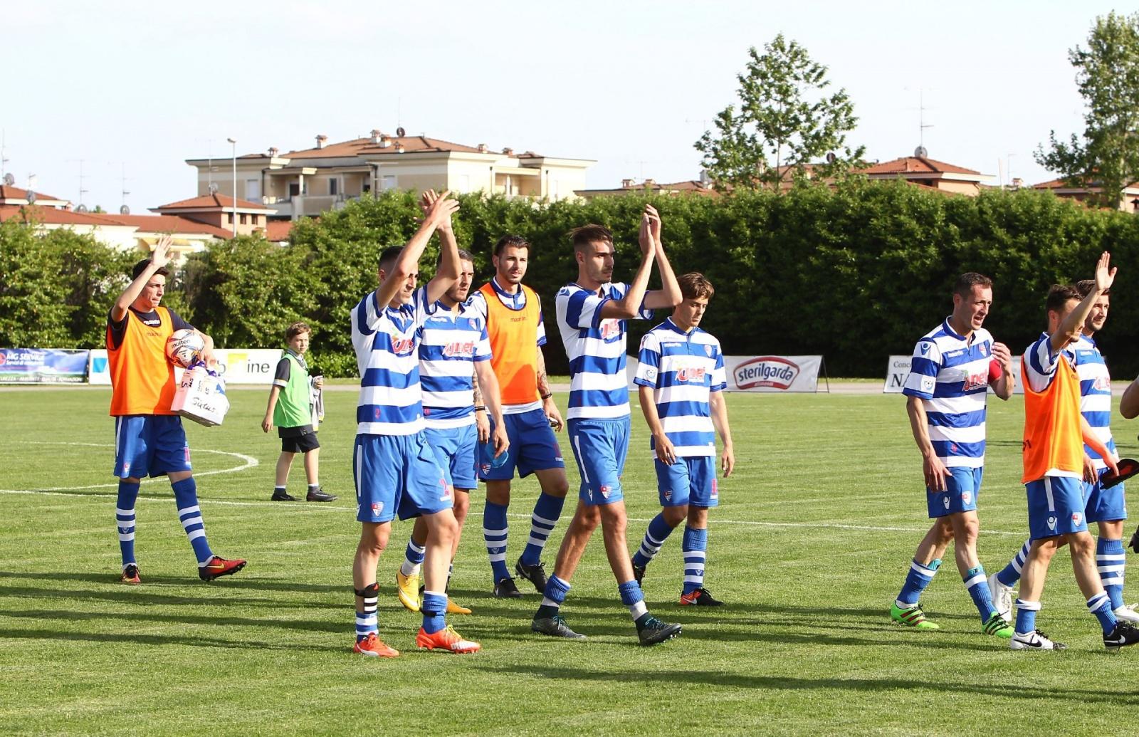 Mazzano (BS)14/05//2017#br/#Campionato Serie D Gir B Play off#br/#Ciliverghe Mazzano - Aurora Pro Patria #br/#Nella foto: SOTTO LA CURVA