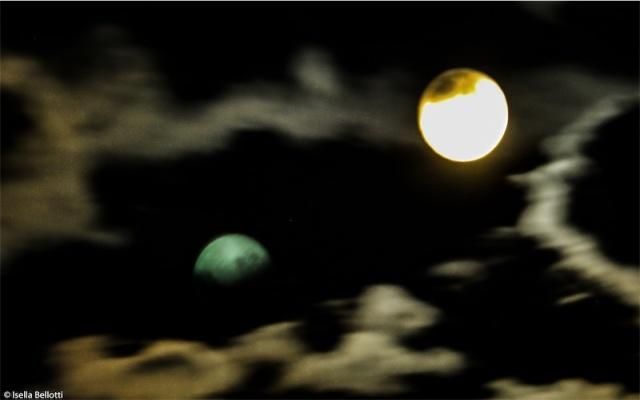 Luna riflessa
