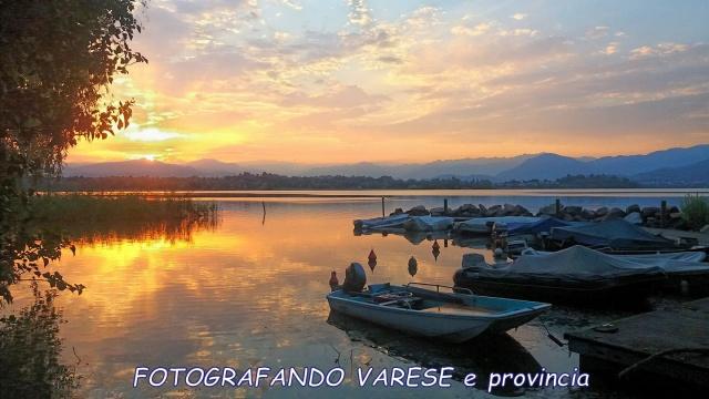 I colori del tramonto...